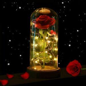 Lila Rose Geschenk zum Valentinstag Jahrestag Weihnachten Geburtstag konservierte Rose,Nie verwelkte Rosen,Gehobene unsterbliche Blumen,Ewige Rosen Box,mit eleganter Geschenkbox Ewige Rose