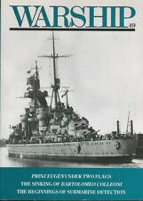 CONWAY WARSHIP 49 WW2 SCHNELLBOOT_PRINZ EUGEN_BRITISH SHIPBOARD CATAPULT DESIGN