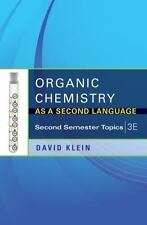 David Klein Organic Chemistry as a Second Language 3E Second Semester Topics PDF