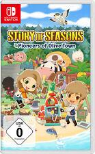 Story of Seasons: Pioneers of Olive Town - Nintendo Switch (NEU & OVP!)