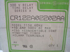 NEW GENERAL ELECTRIC CR122A02202AA RELAY