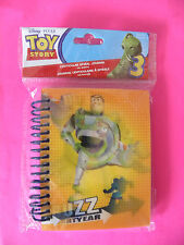 DISNEY TOY STORY JOURNAL  BUZZ  LIGHTYEAR  LENTICULAR   PARTY FAVOR   NEW