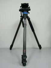 Benro C373FBS8 Carbon Fiber VideoTripod w/ S8 Head - Max Load 17.6 lb