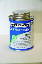 Weld on Plastic Pipe Cement Glue Swimming Pool Koi Pond Bonding Adhesive 240ml