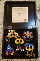 Disney WDW - Mickey's Parti Gras (Masked Pin Boxed Set) LE Rare