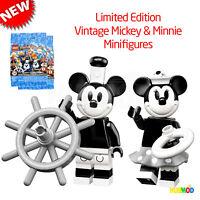 LEGO 71024 Disney Series 2 Minifigures Vintage Mickey & Minnie NEW Opened Foil