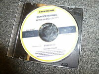 New Holland Model W170B Wheel Loader Shop Service Repair Manual CD