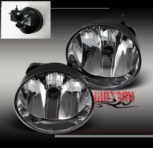 02-09 GMC ENVOY DENALI SLE SLT XL XUV BUMPER DRIVING CLEAR FOG LIGHTS LAMPS KIT