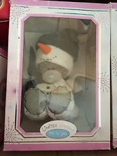 L@@K - BOXED XMAS ME TO YOU TATTY TEDDY BEAR LIMITED EDITION - SNOWMAN