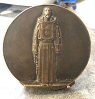 Rare Medal Charles of Foucauld Missionary Av Sahara 1858-1916 N°74 Bronze