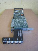 Cognex 8110-CVM1-32 Camera Control Board w/ 800-5637-2 Break Out Box Used
