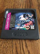 Batman Forever Sega Game Gear Cartridge
