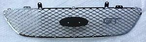 Ford BA BF FPV GT front bumper GLOSS BLACK STEEL GRILLE MESH