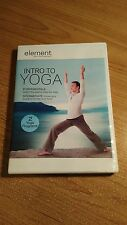 Element : Intro to Yoga (DVD, 2012) Fundamentals & Intermediate Tamal Dodge