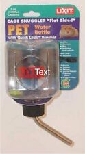 LIXIT CAGE SNUGGLER BOTTLE CAGE TANK 5 OZ  WATER SMALL ANIMAL FREE SHIP USA