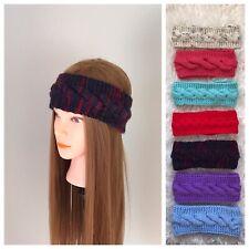 Headbands, Knit Headbands, Ear Warmer, Gift, Handmade