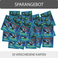 Dragons Trading Cards Die geheime Welt (2019) - 50 verschiedene Base Karten