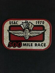 1970 United States Auto Club Indianapolis Motor Speedway 500 Mile Race Official