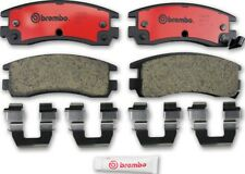 Disc Brake Pad Set-Premium NAO Ceramic OE Equivalent Pad Rear Brembo P59027N