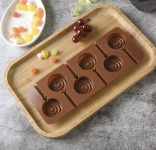 Silicone Lollipop Chocolate Mould Cooking Ice Cube Jelly Lolly Kid Party Fun