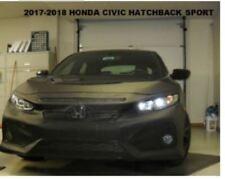 Lebra Front End Mask Cover Bra Fits 2017-2018 Honda Civic Hatchback Sport