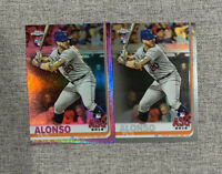 💎2019 Pete Alonso Topps Chrome Pink Refractor Rookie All Star Game Variation 📈