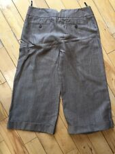 Ladies Size 12 Coast Linen Mix Trousers 3/4 Cropped Shorts