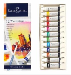 Faber-Castell Creative Studio Water Colours Multicoloured Tubes 5 ml Set Of 12