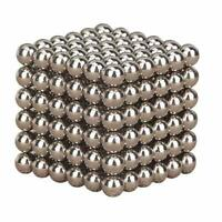 3mm Silver 3D Magic Magnet Magnetic DIY Balls Sphere Neodymium Cube Luxury Beads