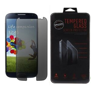 Anti-Spy Privacy Tempered Glass Screen Protector Film For Samsung Galaxy S4 SIV