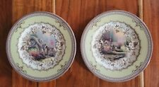 "Set of 4 Spode Thomas Kinkade ""Cottage"" Collector Plates 2005 Inspired Home"