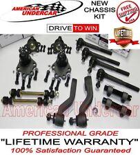 LIFETIME Chevy GMC K1500 4x4 Ball Joint Tie Rod Idler Pitman Arm Kit 1993 1994