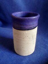 Rick Fletcher. Vintage Welsh Studio Pottery. Cylindrical Pot.