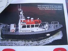 MODEL BOAT PLAN SEA SHEPARD ABERDEEN HARBOUR PILOT BOAT 1 : 20 ALL ORIGINAL