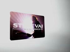 NEW Custom 4 Guitar Picks Pick Card STEVE VAI Where The Wild Things Are Pikcard