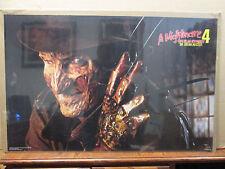 Vintage A Nightmare on Elm Street 4 Dream master movie poster 11591