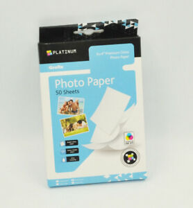 50 Sheets 6x4'' 220Gsm High Glossy Photo Paper For Inkjet Paper Printing