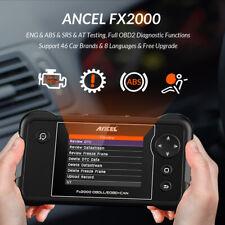 OBD2 Automotive Scanner Engine SRS ABS Diagnostic Tool Transmission Code Reader