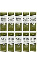 Astra Superior Platinum Double Edge Razor Blades 10 Packs Of 100 / SAME DAY POST