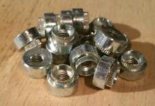 Qty 25  M6 x 14SWG Rivet Bush Steel Nut ZCF Rivnut Hank Bolt Round 14G