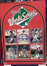 MINNESOTA TWINS 1991 WORLD SERIES SPORTS ILLUSTRATED POSTER