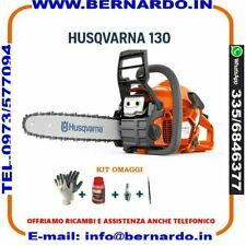 MOTOSEGA HUSQVARNA 130 X-Torq® MOTORE 38 cm³ 1.5 kW LAMA 35CM