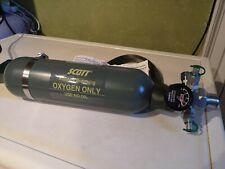 Scott Aviators Breathing Aircraft Portable Oxygen Bottle 5500-B1A-BF23A - FULL