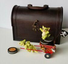 """Go! Go! Getaway Cart"" Pocket Dragons Real Musgrave Club Member Exclusive New"