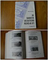 LIBRO DIE BANKNOTEN DES DEUTSCHEN REICHES AN 1871 ROSENBERG BANCONOTE 1991