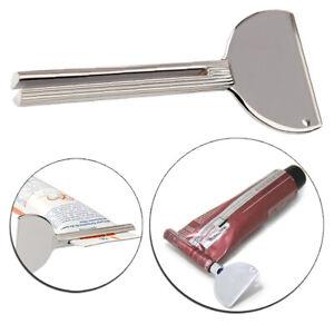Roller Toothpaste Squeezer Tube Stainless Steel Key Dispenser Bathroom Supplies