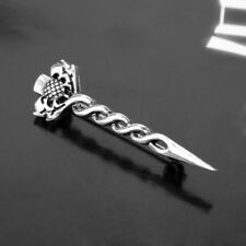 Scottish miniature Kilt Pin with Thistle and Sword