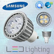 Samsung DIMMABLE 6.7w = 35w GU10 LED 40D Spot Light Bulb/Lamp WARM WHITE 2700k