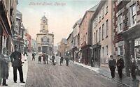 POSTCARD   CORNWALL  PENRYN   Market  Street   Circa  1907    RP