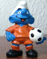 Smurfs 20454 World Cup Soccer Smurf Footballer Vintage Figure PVC Schleich Toy